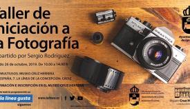 Cartel orficial del taller que impartirá Sergio Rodríguez