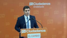 El parlamentario de Ciudadanos Sergio Romero