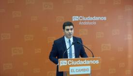 Sergio Romero, portavoz andaluz de Ciudadanos