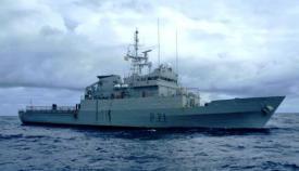 El 'Serviola' (P-71) fue entregado a la Armada en 1992. Foto EMAD