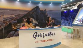 Stand de Gibraltar en Fitur 2020. Foto NG