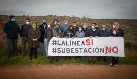 Gran parte del equipo de gobierno junto a 'Los Portichuelos'. Foto: Sergio Rodríguez
