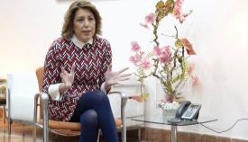 Susana Díaz, secretaria general del PSOE andaluz. Foto: NG