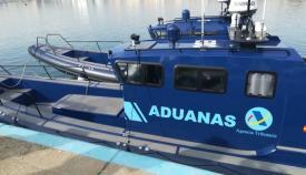 Una embarcacion del Servicio de Aduanas. Foto: NG