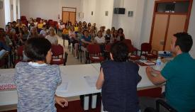 El taller ha contado con gran asistencia de público