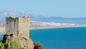 Tarifa, playa e historia