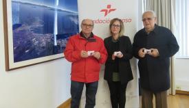La Fundación Cepsa dona tarjetas de combustible al Banco de Alimentos