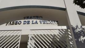 Fachada del Teatro 'Paseo de la Velada'. Foto: lalínea.es