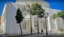 Aspecto actual del Teatro 'Paseo La Velada' de La Línea. Foto: NG