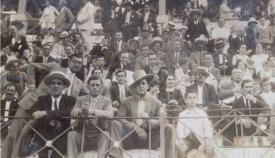 Tendido de la Plaza de Toros de La Línea. Años veinte del siglo pasado. Archivo Municipal de San Roque