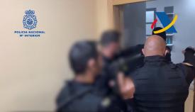 Diez detenidos en una operación antidroga en la comarca, Ceuta y Málaga