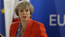 Theresa May, primera ministro británica