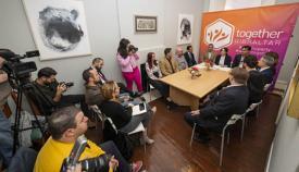 Comparecencia de prensa de Together Gibraltar