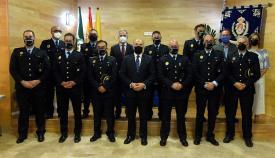 Nuevos inspectores y oficiales de la Policía toman posesión en Algeciras