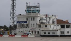 Torre de control del aeropuerto de Gibraltar