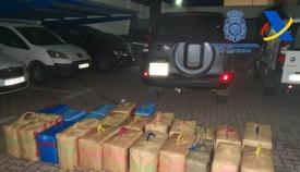 En total se intervinieron más de dos toneladas y media de droga