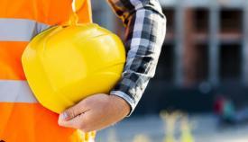 Imagen genérica de un trabajador de la construcción