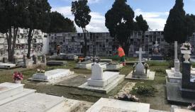 Imagen de archivo de un cementerio de Algeciras