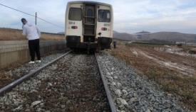 Una imagen de archivo de un tren también averiado. Foto: NG