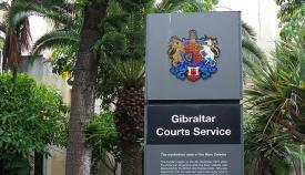Sede de los tribunales gibraltareños