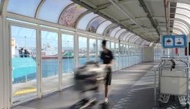La Estación Marítima de Algeciras repondrá los pasillos mecánicos