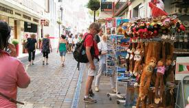 Turista en Main Street