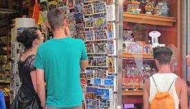 Turistas extranjeros en Andalucía