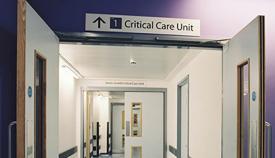 Unidad de Cuidados Intensivos en el Hospital St. Bernard de Gibraltar