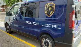 Un vehículo de la URI de la Policía Local de La Línea. Foto: lalínea.es
