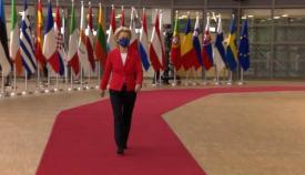 La presidenta de la Comisión Europea, Ursula von der Leyen. Foto NG