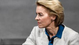 La presidenta de la Comisión Europea, Ursula von der Leyen. Foto EFE
