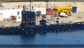 El submarino nuclear estadounidense USS John Warner