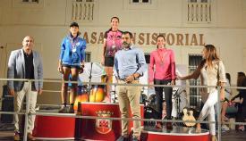 Un momento de la entrega de premios de la V Urban Race de San Roque