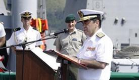 El vicealmirante Díaz del Río, en una imagen de archivo. Foto ARMADA