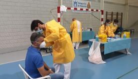 El Área Sanitaria Oeste ya ha administrado más de 235.000 vacunas contra el Covid