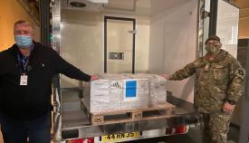 Más de 11.000 personas han recibido la primera dosis. Foto RGP
