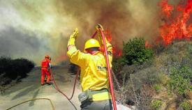 El riesgo de incendio en verano es muy alto en el Campo de Gibraltar