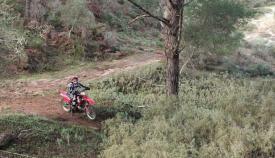 Verdemar denuncia la presencia de motos en el entorno