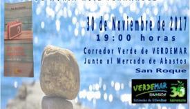 Cartel de la presentación del libro de Nuria Ruiz Fernández