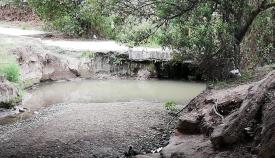 En Verdemar vuelven a denunciar la pérdida de caudal del río Pícaro. Foto: Verdemar