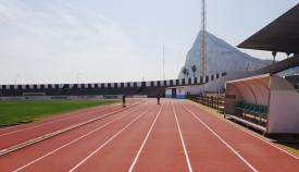 Interior del Estadio Municipal de La Línea. Foto: NG