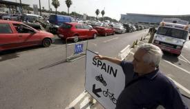 Gibraltar Verja dirección única España