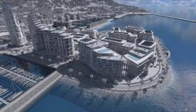 Imagen promocional del proyecto urbanístico de Gibraltar Victoria Keys