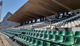 El Estadio Municipal de La Línea, en imagen de archivo
