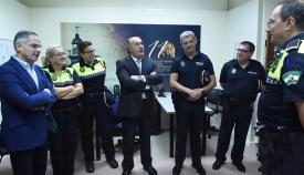 Landaluce, satisfecho por el descenso de criminalidad en Algeciras