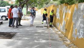 Continúan los trabajos de mejora en el CEIP Caetaria de Algeciras