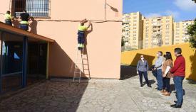 Continúan las intervenciones en el colegio Campo de Gibraltar