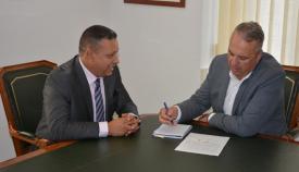 El alcalde de San Roque y el nuevo cónsul de Marruecos en Algeciras
