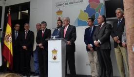 La visita de Dastis al Campo de Gibraltar supuso el inicio de una ofensiva política del PSOE