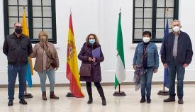 Al-Yazirat visita la exposición 'Zurbarán, la luz imposible' en Algeciras
